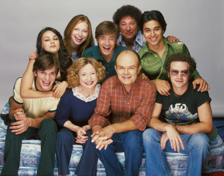 Cast of 'That 70s Show'